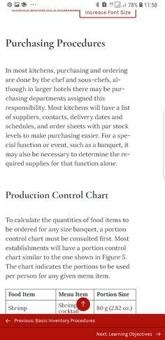Food Cost, No Response