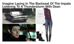 Imagine Laying In The Backseat Of The Impala Listening To A Thunderstorm With Dean Sammy Supernatural, Supernatural Fanfiction, Supernatural Cosplay, Supernatural Bloopers, Supernatural Tattoo, Supernatural Imagines, Supernatural Wallpaper, Castiel, Supernatural Inspired Outfits