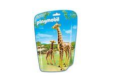 Girafe et girafon - 6640 - PLAYMOBIL® België
