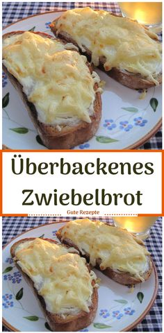 Überbackenes Zwiebelbrot - From Parts Unknown Pizza Recipes, Cookie Recipes, Brunch Recipes, Baked Onions, Onion Bread, No Bake Granola Bars, Party Food Platters, Food Cakes, Party Snacks