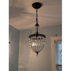 Birch Lane Evelynne Mini Crystal Chandelier | Birch Lane