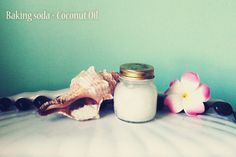 Facial cleanser DIY! Coconut oil and baking soda...fantastic results. I've been using coconut oil for months to cleans my face but just recently added in baking soda a few times a week. My skin is so smooth and soft!