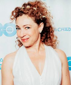 Alex and her flower crown at the 'Raise A Child US Honors 2015′