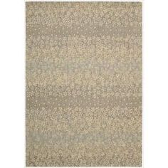 @Overstock - Vivid beige and blue color palette is densely power loom woven from 100-percent New Zealand wool. Specific designs call on hand carving to further accentuate the designs. This hand-finished product reflects the highest standards of craftsmanship.http://www.overstock.com/Home-Garden/Calvin-Klein-Home-Metropolitan-Beige-Rug-36-x-56/6716167/product.html?CID=214117 $261.99