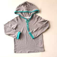 Little Bit of Color Hoodie by madebyrae, via Flickr - is there nothing this woman can't do?