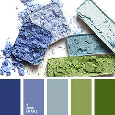 A fresh palette in natural colors. Sky, sea and wild greenery. Blue and green shades naturally and harmonically match with each other. Scheme Color, Blue Colour Palette, Colour Schemes, Color Patterns, Color Combos, Paint Schemes, Pantone, Color Balance, Color Harmony