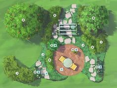 Landscape Plan: Fruit Garden for Florida…. Kumquats, figs, key limes, blueberries and naval oranges are just some of the fruits youll harvest in this beautifully landscaped garden retreat Landscape Plan: Fruit Garden Florida Landscaping, Florida Gardening, Backyard Landscaping, Landscaping Ideas, Landscape Plans, Landscape Design, Pyrus, Flower Landscape, Fruit Garden