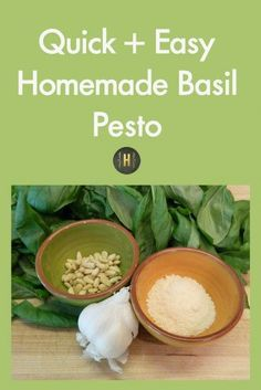 ... Basil Pesto | Dips & Sauces | Pinterest | Basil Pesto, Pesto and Basil