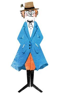 Recherche personnage by Guillaume Plantevin, via Behance