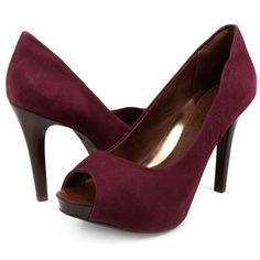 Peep Toe Ramarim 1322107 Rubi - R$149.90 (em até 10x) Compre aqui http://www.footcompany.com.br/Peep-Toe-Ramarim-1322107-Rubi-13-22107RUBI/p