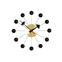 BALL CLOCK BLACK