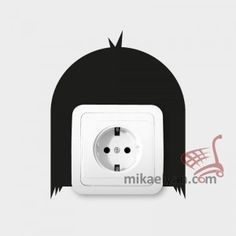 Stickers for Plugs & Switch Buttons>Japanese hairstyle for sale from 3.90 #wall #art #stickers #decal