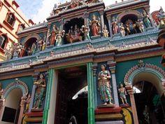 A Hindu temple, Singapore  -Photo by Vincent Bertot