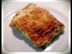 Lasagna, Quiche, Beverages, Breakfast, Ethnic Recipes, Youtube, Food, Morning Coffee, Quiches