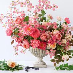 romantic pink arrangement