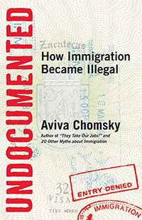 """Democracy Now! interviews Aviva Chomsky (daughter of Noam!) on """"Undocumented: How Immigration Became Illegal,"""" which details how systemic prejudice against Mexicans and many other migrant workers has been woven into U.S. immigration policies that deny them the same path to citizenship that have long been granted to European immigrants. She also draws parallels between the immigration laws now in place that criminalize migrants and the caste system that has oppressed African Americans."""