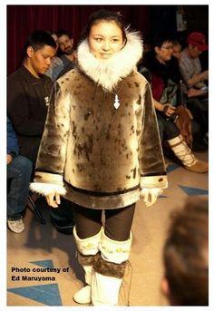 Inuit made sealskin jacket photo by Ed Maruyama