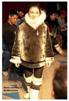 Inuit made sealskin jacket photo by Ed Maruyama