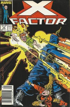 Marvel X-Factor comic issue 16