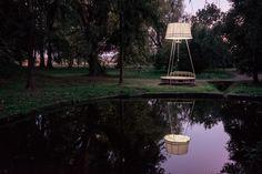 LAMPNEST art installation