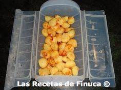 Las Recetas de Finuca: Patatas al vapor con pimentón en Lékué