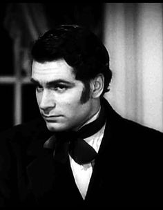 Laurence Olivier as Heathcliff in the 1939 version of Wuthering Heights.