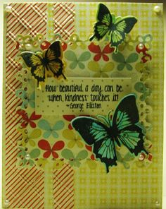 This card was created with Tim Holtz Distress Pens