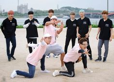BTS en Running man episodio 300