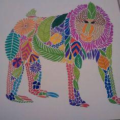 """#cheekymonkey #milliemarotta #milliemarottastropicalwonderland #colouring…"