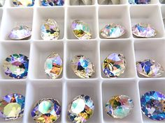 6 Silk AB Swarovski Crystal Chaton  Stone 1088 39ss by BeadwareIL-$3.75,12-$7.45