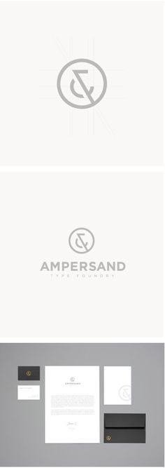 Ampersand corporate identity design