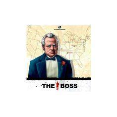 The Boss  The Boss es un juego familiar en el que los jugadores encarnarán a los capos de bandas de mafiosos intentando hacerse con el control de importantes ciudades de EEUU.