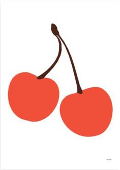 Cherry Litho // Lisa Masterson
