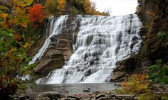 Ithaca Falls, Ithaca, NY. Nature is awesome. I love hiking and essential oils.