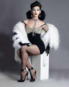 Have you gotten my 2019 calendar- shot by the iconic yet? Here's December of this years calendar shot by the amazing… Judy Garland, Trajes Drag Queen, Ru Paul, Best Drag Queens, Lgbt, Kardashian, Drag Queen Outfits, Violet Chachki, Adore Delano