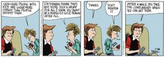 """01/16/13 """"Daddy's Home"""" Comic & Question: What bait do you use when fishing for compliments?  See more fun stuff at: www.daddyshomepage.com"""
