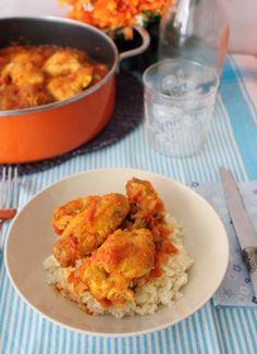 Pollo al chilindrón, receta fácil paso a paso