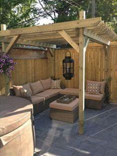 Cool Backyard Deck Design Idea 46 #backyarddeckdesigns