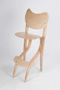 Tiny Dancer #Chair by Hans Gottsacker – ICFF 2011 possible high chair ideas