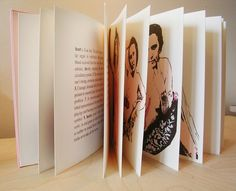 Fantastic screen printed book on Female Anatomy