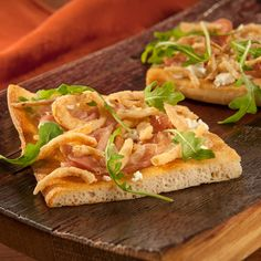 Check+out+this+great+recipe+from+French's:+Prosciutto,+Goat+Cheese+and+Caramelized+Onion+Flatbread!