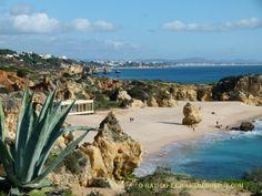 Praia de S. Rafael no Algarve