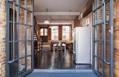 Check Out This Sharp Warehouse Turned Industrial Bachelor Loft Here S