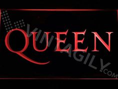 Queen 2 LED Sign