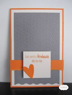 DIY Card. Love the colors!