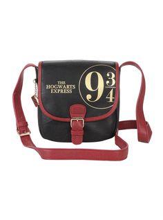 Harry Potter Platform 9 3 4 Crossbody Bag e215ce6c35bcc