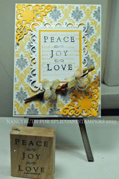peace joy and love over kindness