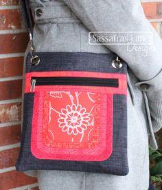 Cassidy Crossover Purse Pattern - Sassafras Lane Designs