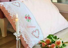 Bed Pillows, Pillow Cases, Cross Stitch, Pillows
