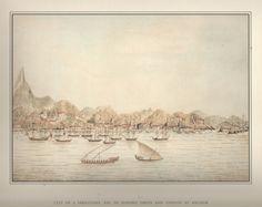 Documento Iconografia do Brasil - William Bradley. Diário e Aquarelas - Rio de Janeiro -